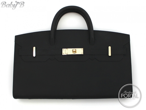 Baby B - Black with Gold hardware