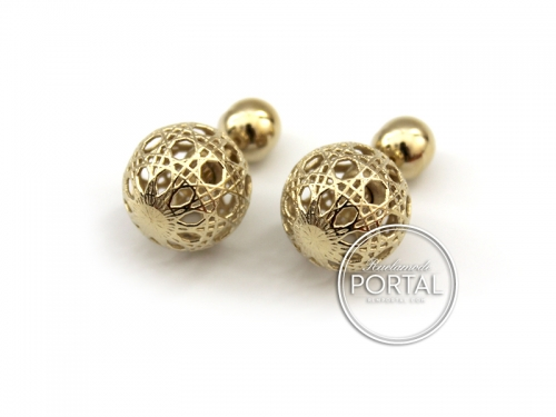 Dior Tribal Earrings in Gold