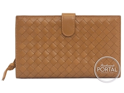 Bottega Veneta Continental Long Wallet - Chene in Nappa