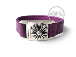 Chrome Hearts - Cuff Bracelet in Purple