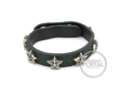 Chrome Hearts - C.H. Plus Star Studs Studs 2-Snap in Lizard  ...