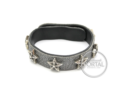 Chrome Hearts - C.H. Plus Star Studs Studs 2-Snap in Metallic Grey