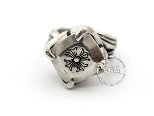 Chrome Hearts - C.H. Cock tail #4 Ring