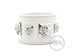 Chrome Hearts - C.H. Bruiser White Cuff