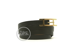 Hermes Hapi 3 - Black in Swift with Gold hardware S