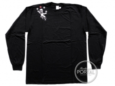 Chrome Hearts Long Sleeve T Foti in Black - Large