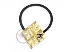 Chanel Classic Gold Acrylic Hair accessory