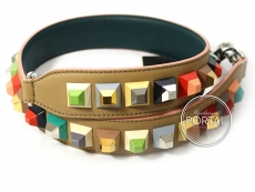 Fendi Strap You - Coloured Studs Natural