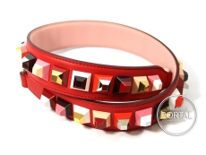 Fendi Strap You - Coloured Studs RED