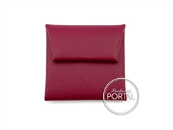 Hermes Bastia Coin Purse - Rubis in Epsom