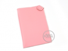 Hermes Passport Holder - Rose Confetti in Cherve