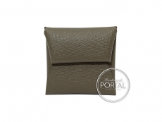 Hermes Bastia Coin Purse - Etoupe in Epsom